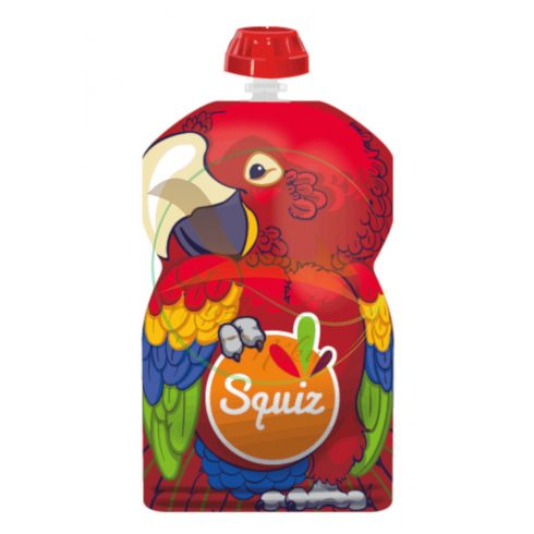SQUIZ ételtasak Papagáj, 1 darabos (130 ml)
