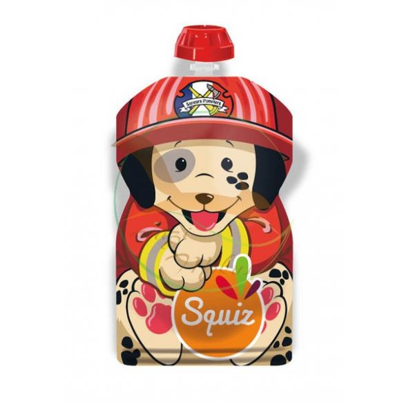 SQUIZ ételtasak Tűzoltó Kutya, 1 darabos (130 ml)