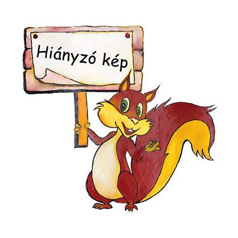 VIXI Bambusz mosogatókendő kevertszálas, sárga csíkos (30x30)
