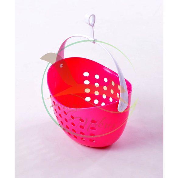 VIXI Csipesztartó kosár pink