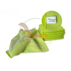VIXI Dörzsi mikroszálas törlőkendő kiwi zöld (30x30)