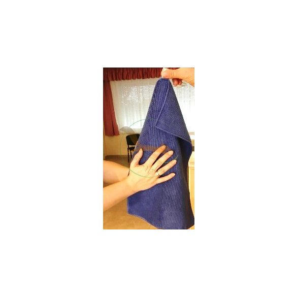 VIXI Gyermek kéztörlő kék (30x45)