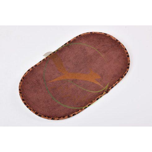 VIXI Kutya-cica tálalátét barna (55x33)