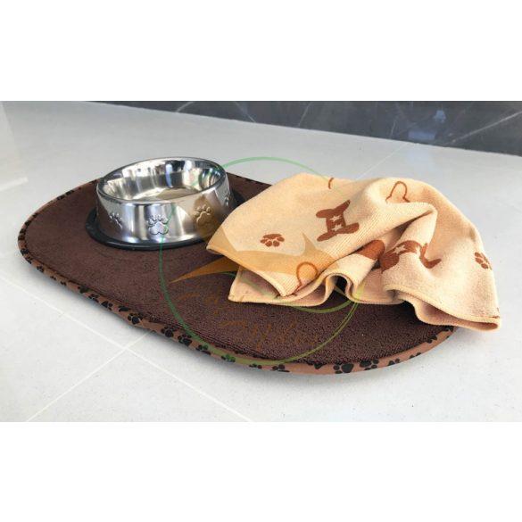 VIXI Kutya-cica tálalátét bézs (55x33)