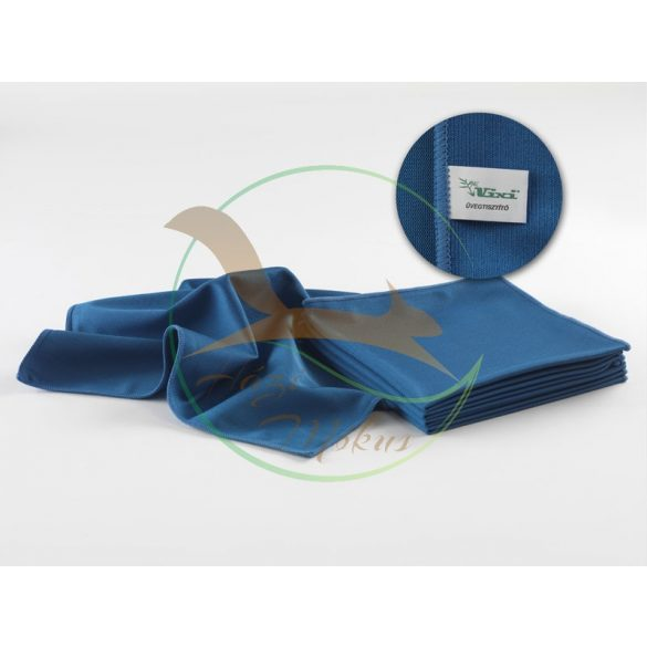 VIXI Üvegtisztító törlőkendő sötétkék (40x40)