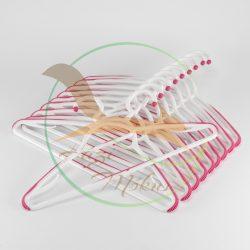 VIXI Vállfa szett pink (10 db)